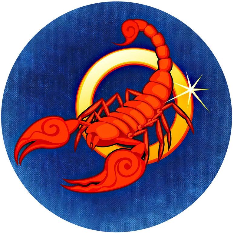 Скорпиона восьмой знак для